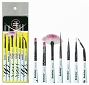 Berkeley Zebra Nail Art Brushes 7/Set