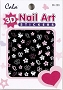 Cala 3D Nail Art Stickers