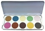 Kryolan Eye Shadow 10 Classic Palette