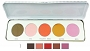 Kryolan Blusher 5 Colors MATT Palette