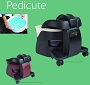 Pedicute Portable Footspa