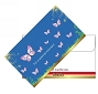 Envelope Blue Butterfly