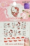 Hello Kitty Face Paw Red Bow Full Cover