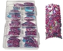Caviar Nail Tips 3733 Blue Pink 100/Box